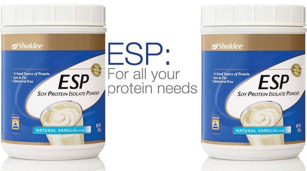 esp shaklee protein