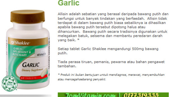 garlic_shaklee
