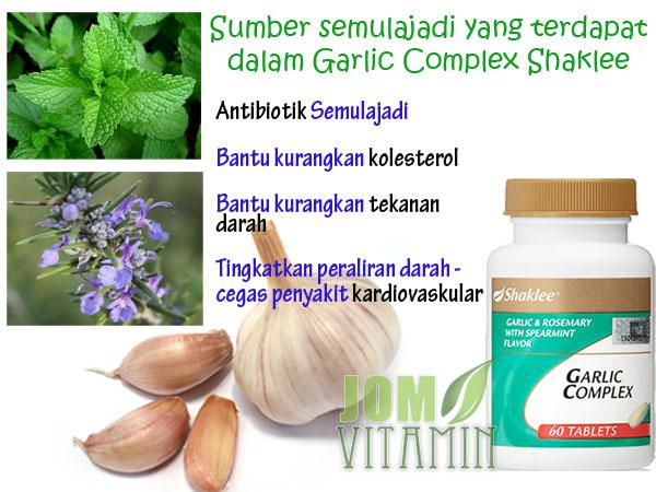garlic shaklee sumber semulajadi garlic