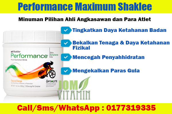 performance shaklee performance drink