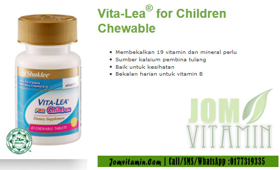 vita lea for children shaklee