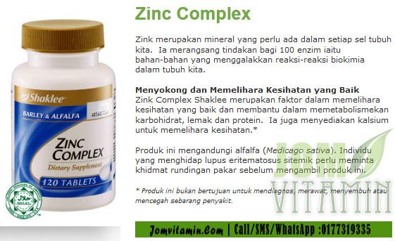 zinc shaklee