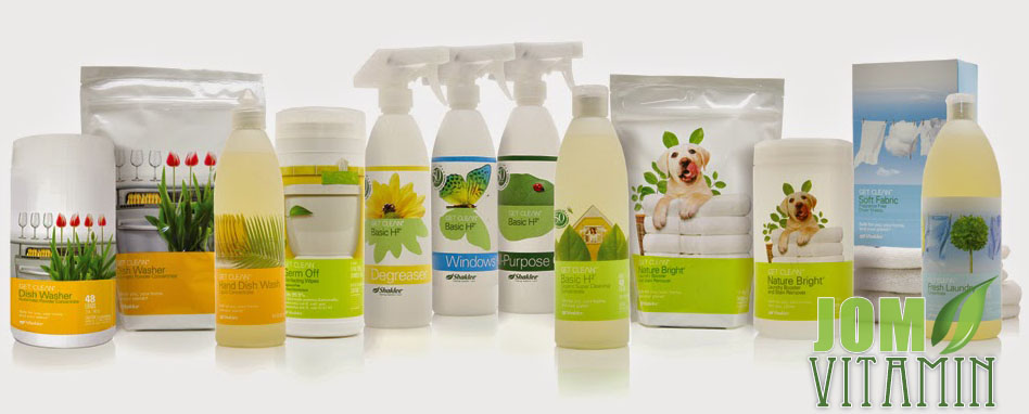 shaklee home care Get Clean products