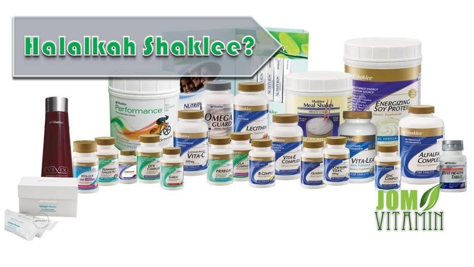 sijil halal shaklee halalkah shaklee produk shaklee