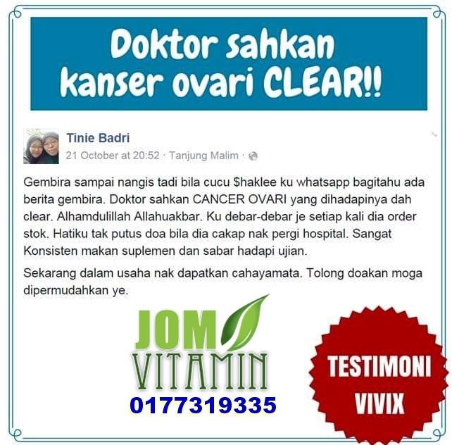testimoni_vivix_kanser_ovari