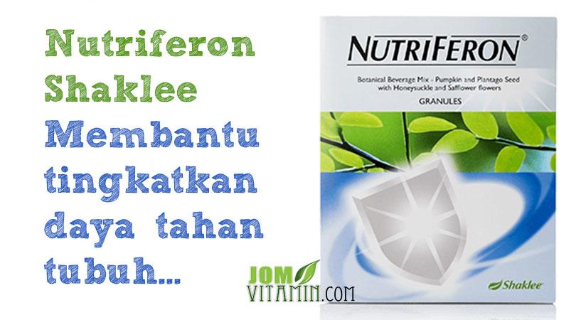 nutriferon shaklee tingkatkan daya tahan tubuh