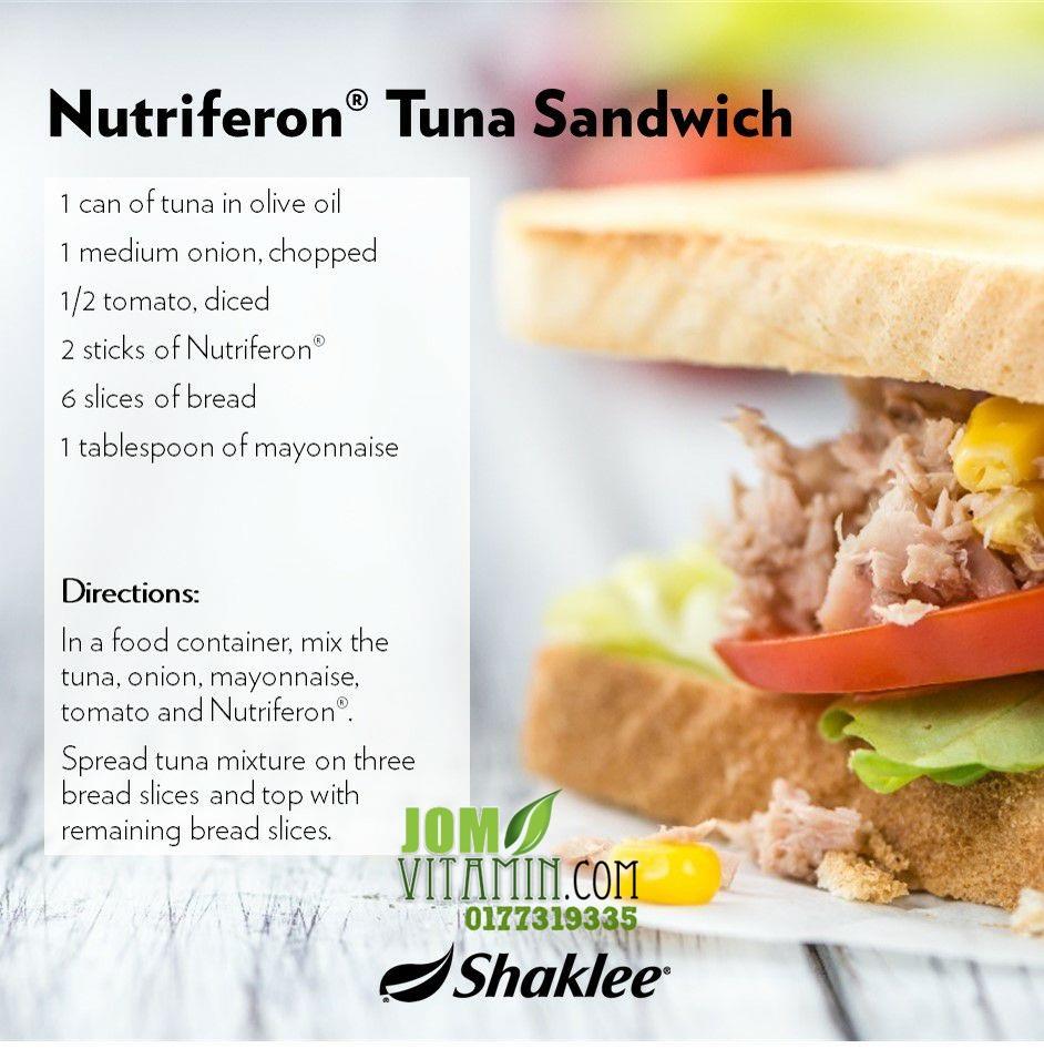 resepi nutriferon Shaklee