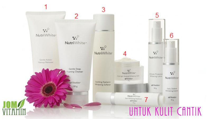nutriwahite shaklee untuk kulit cantik kulit putih