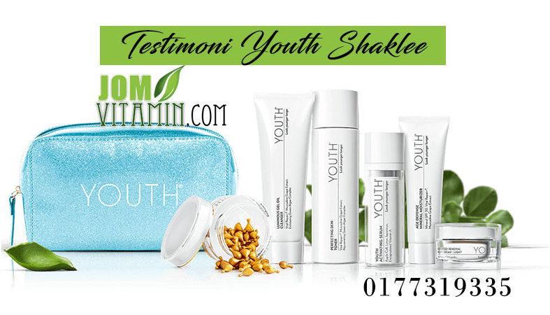 testimoni youth shaklee skincare