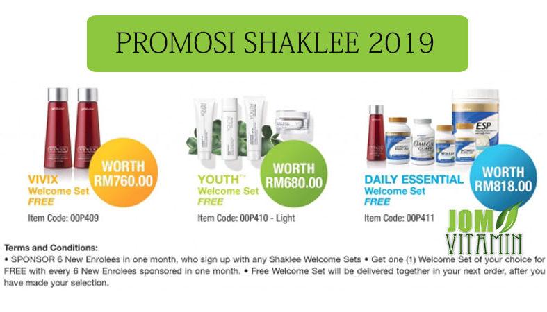 promosi shaklee april 2019