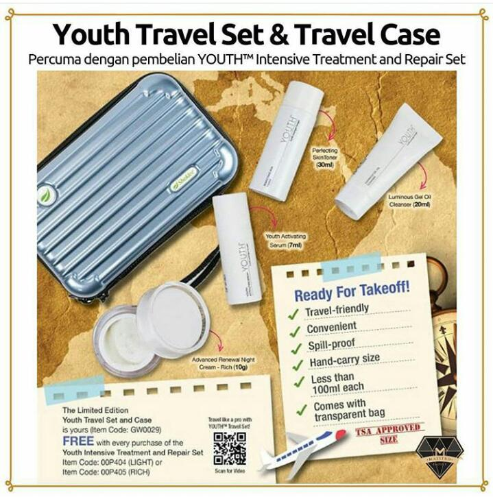 promosi shaklee april 2019 promo3 youth travel set