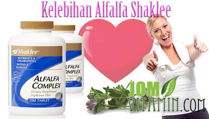 kelebihan kebaikan alfalfa shaklee